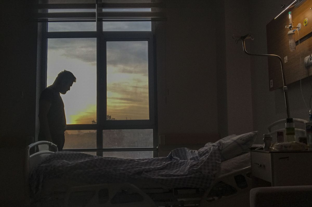 AA muhabiri tedavi günlerinin resmini çekti - Sayfa 2
