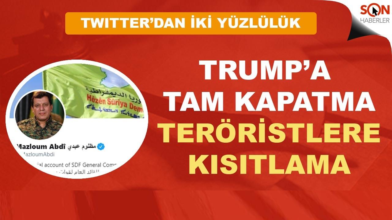 Twitter PKK'lı Mazlum Kobani'nin hesabını Türkiye'de erişime kapattı