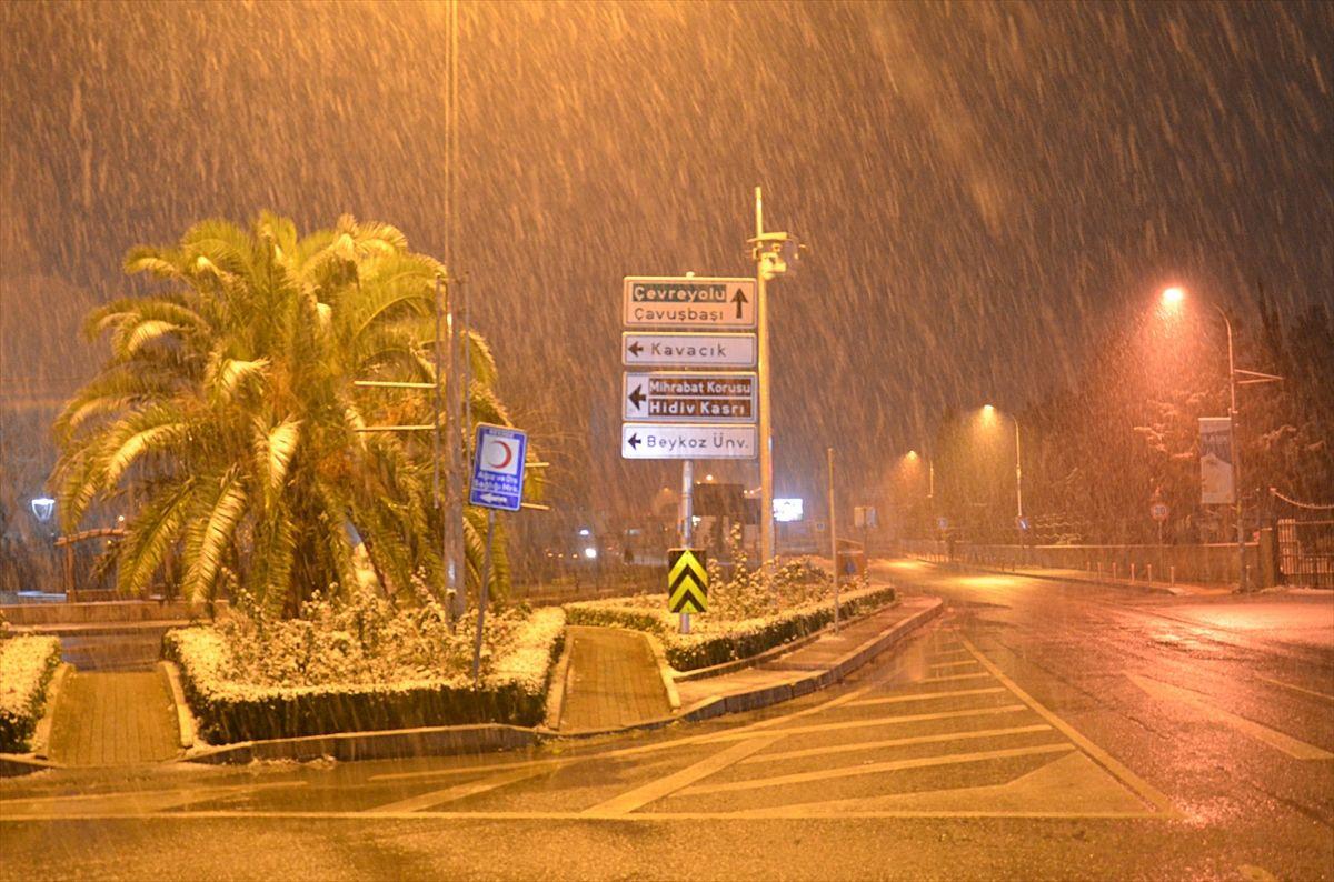 İstanbul güne karla uyandı - Sayfa 2