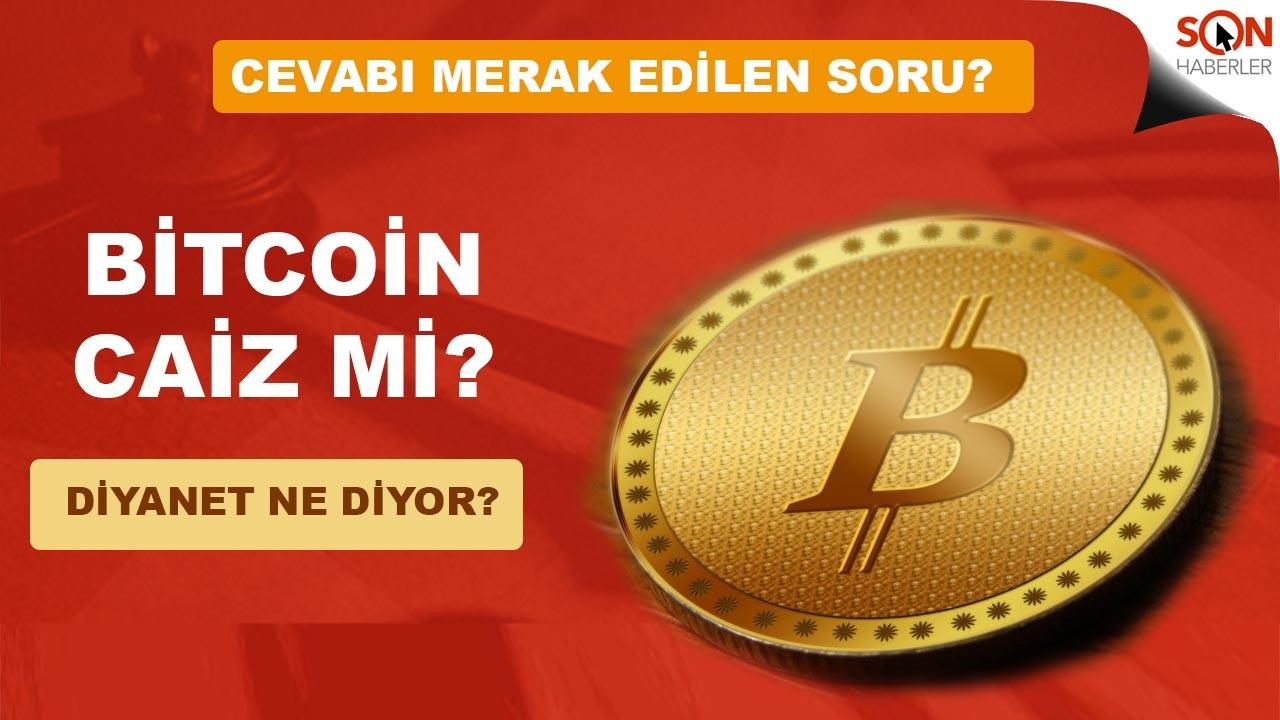 Bitcoin caiz mi günah mı haram mı helal mi Diyanet ne diyor?