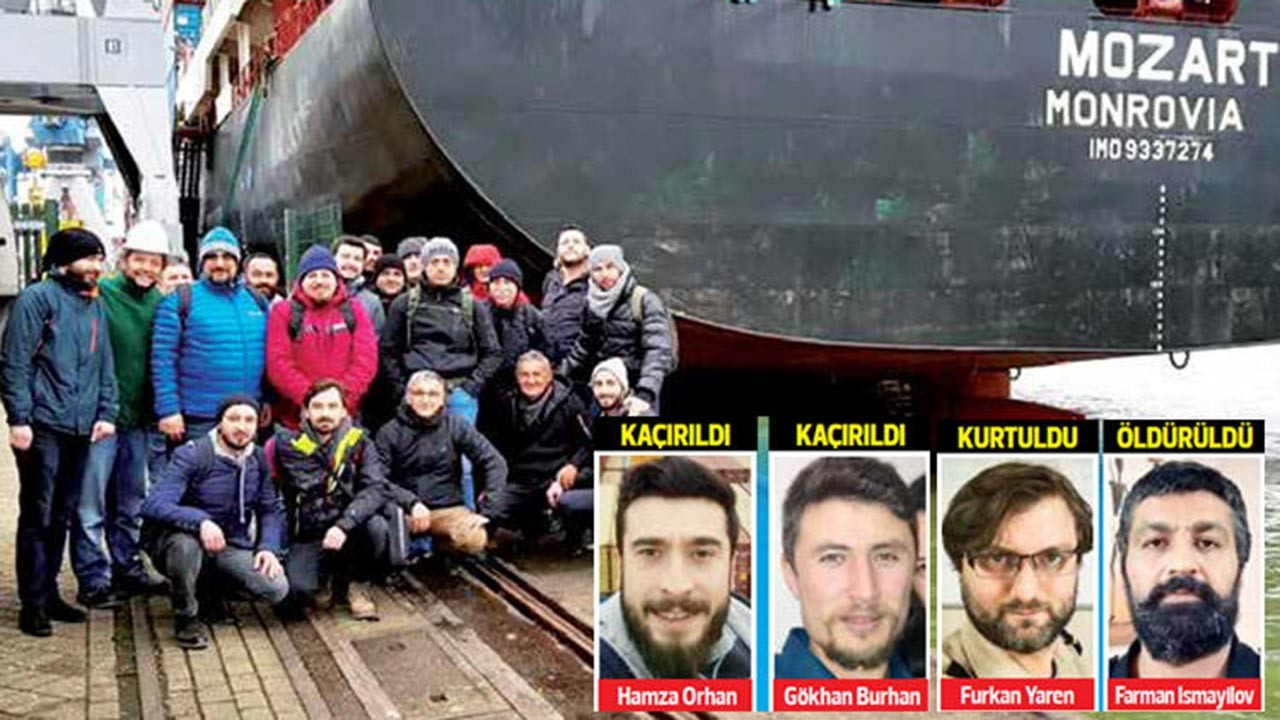 Korsanlardan kurtulan gemiciler dehşeti anlattı