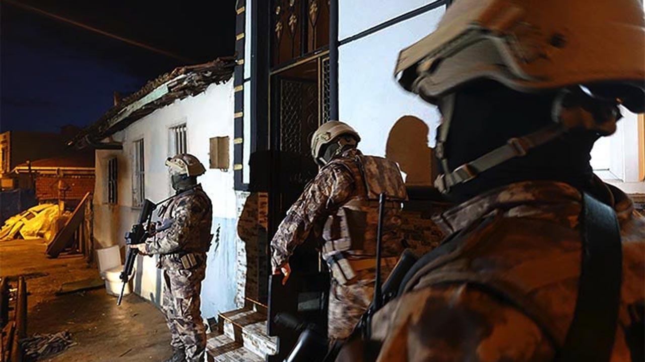 Yüzlerce polisin katıldığı operasyon