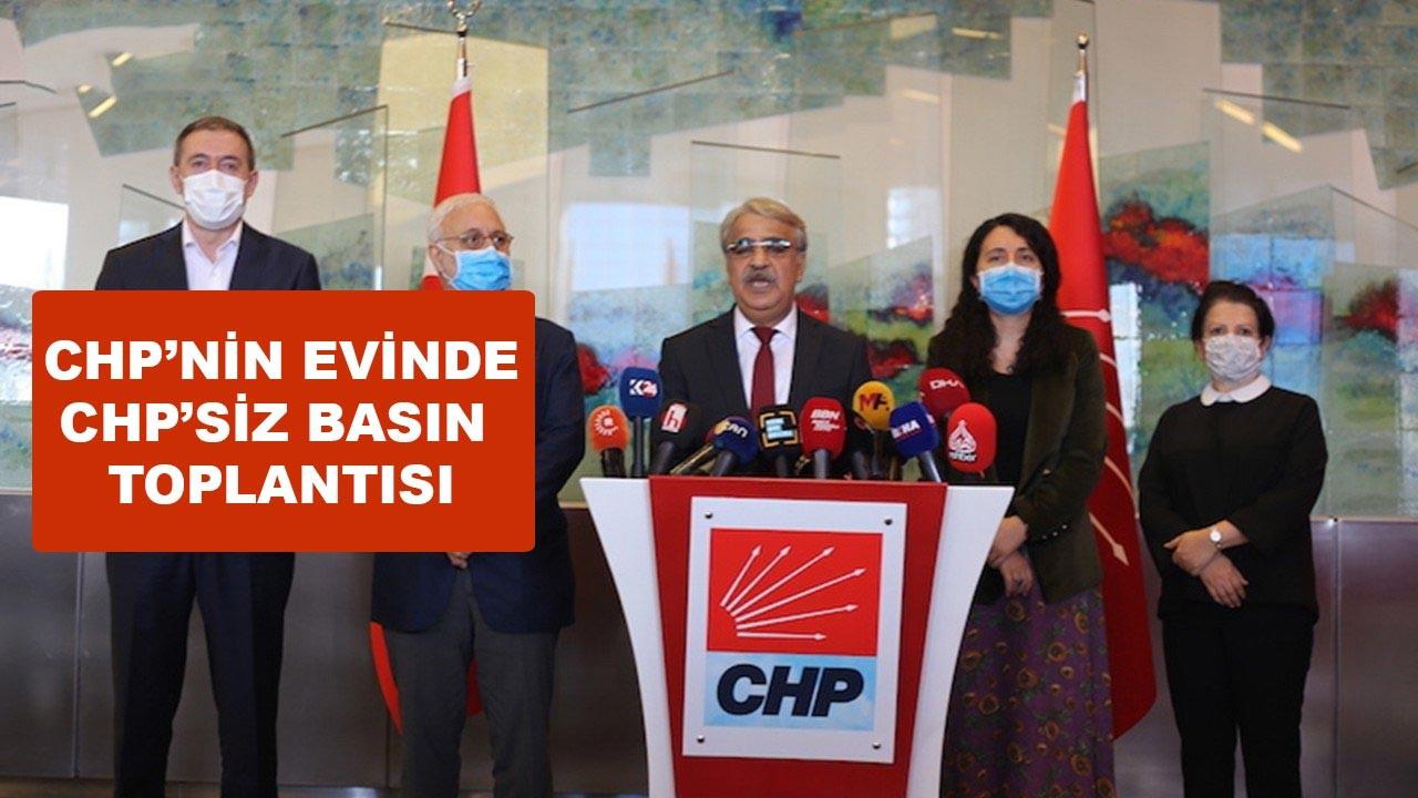 Kılıçdaroğlu, HDP'lilerle kamera karşısına geçmedi