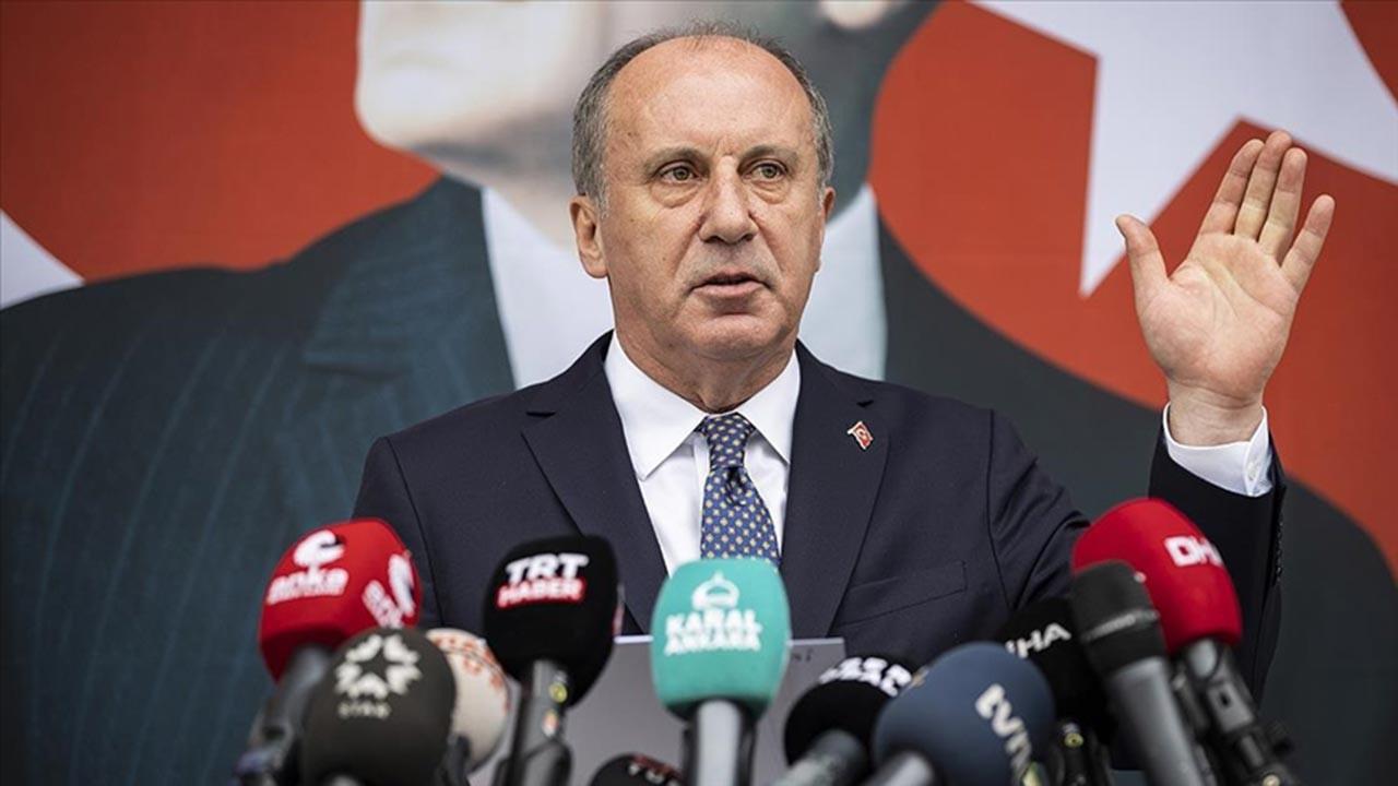 Muharrem İnce CHP'den resmen istifa etti