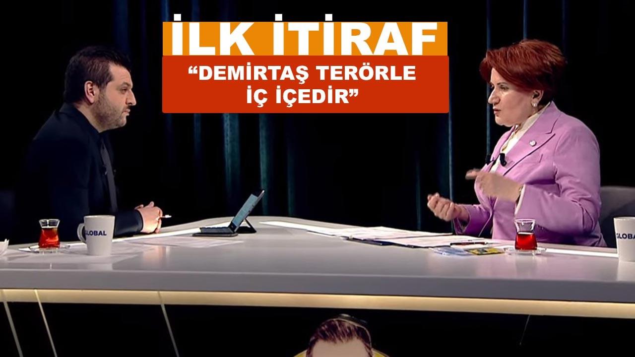 Meral Akşener'den Selahattin Demirtaş itirafı