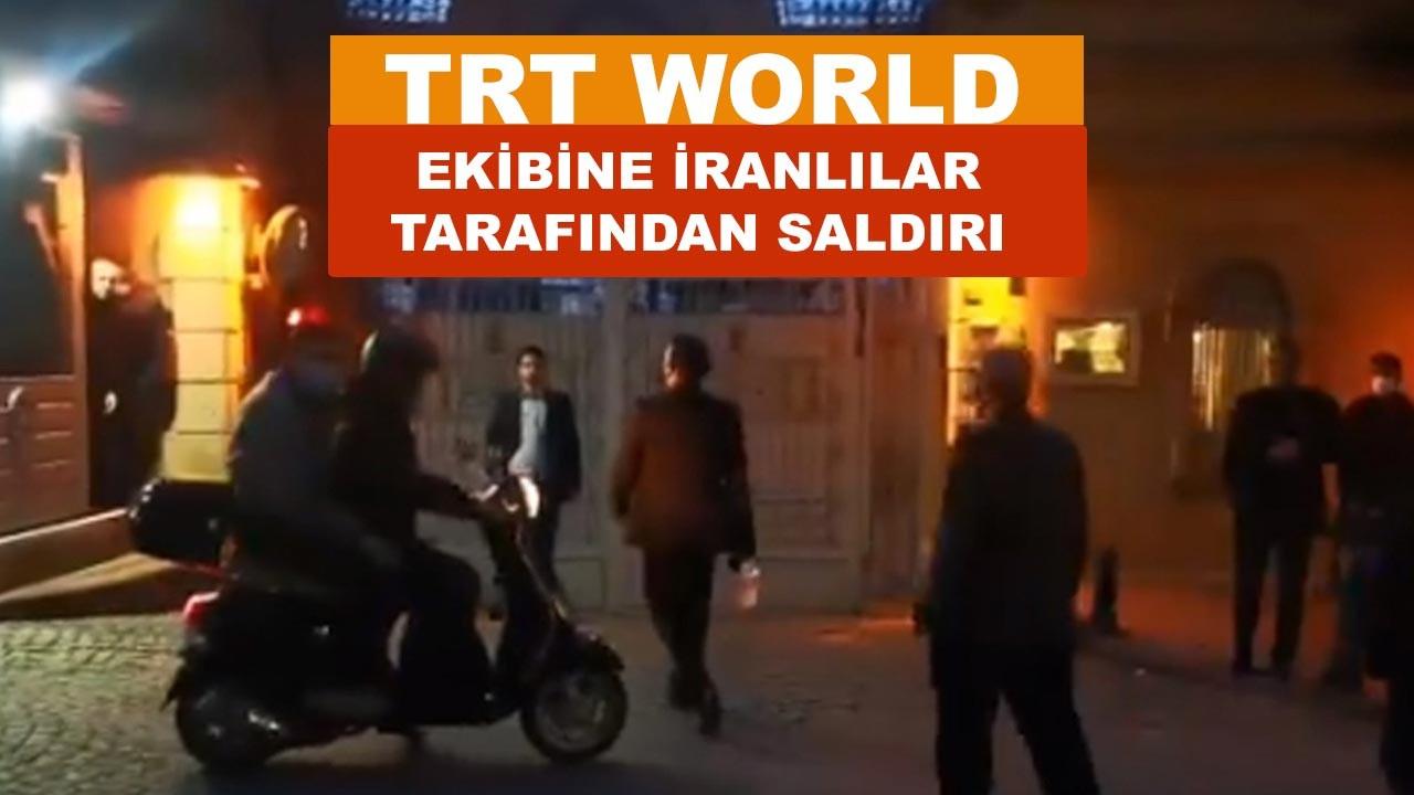 TRT World ekibine saldırı