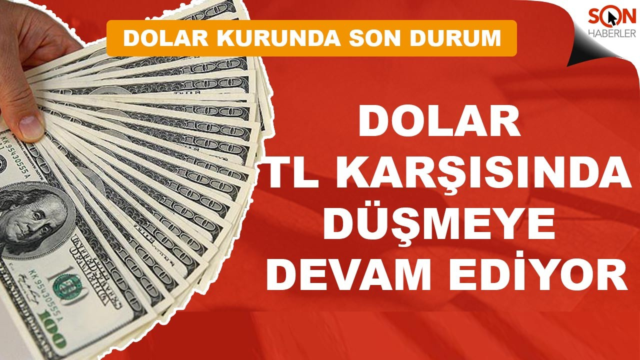 Amerikan doları Türk Lirası karşısında düşük seviyede seyrediyor