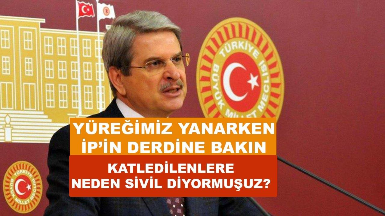 Türkiye'nin yüreği yanarken İyi Parti'nin derdine bakın