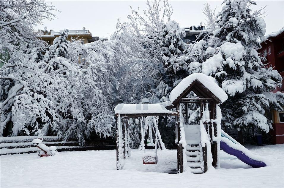 İstanbul'da kartpostallık kar manzaraları - Sayfa 1