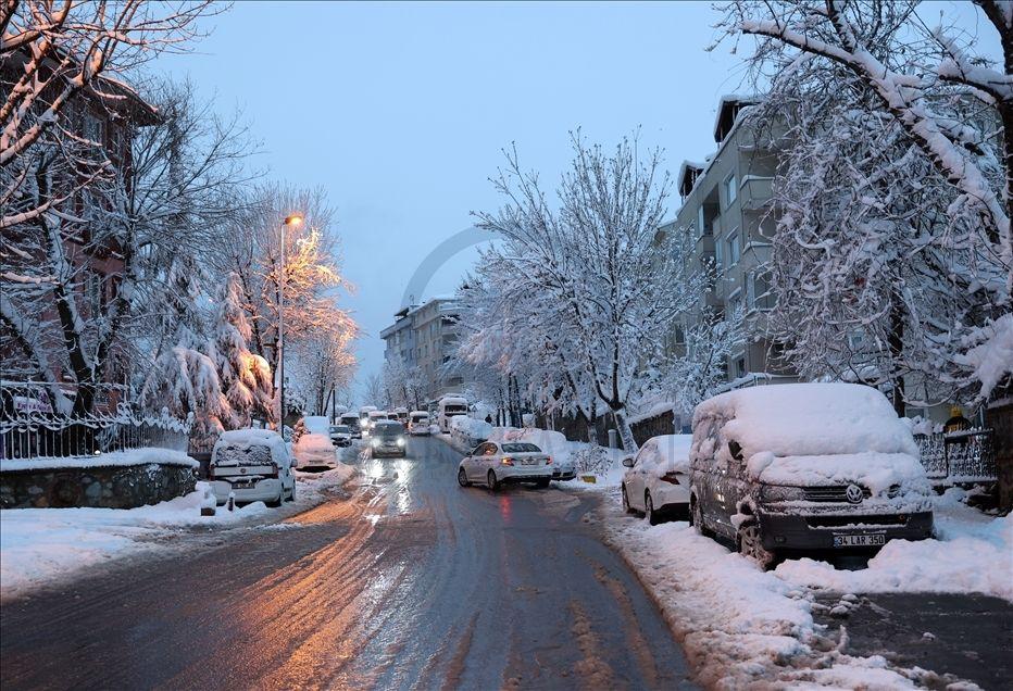 İstanbul'da kartpostallık kar manzaraları - Sayfa 2
