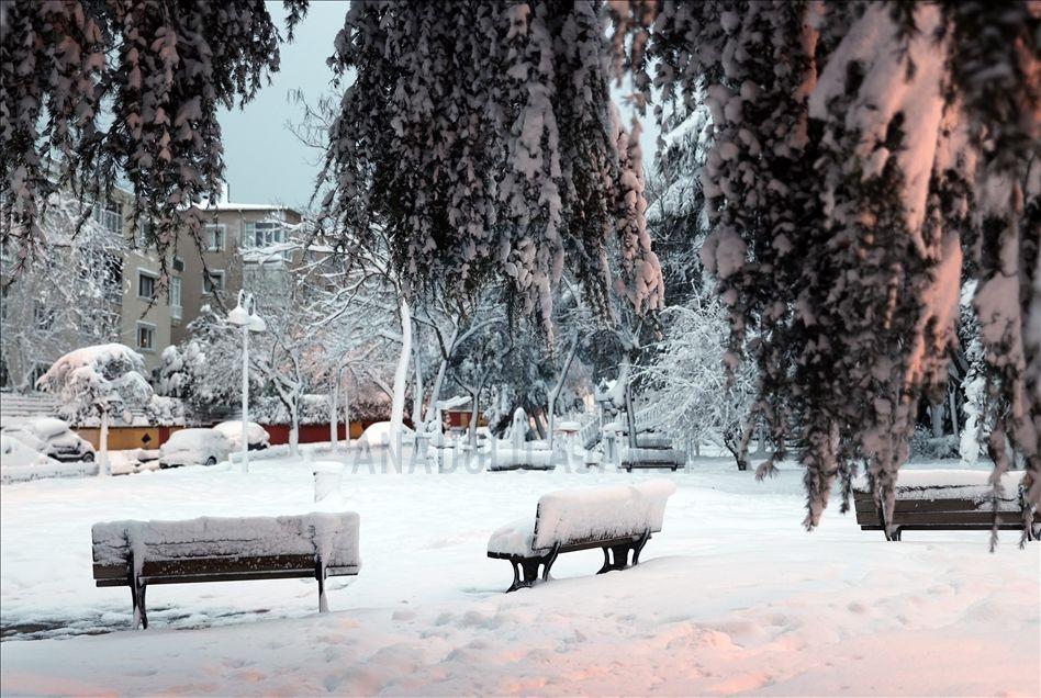 İstanbul'da kartpostallık kar manzaraları - Sayfa 3
