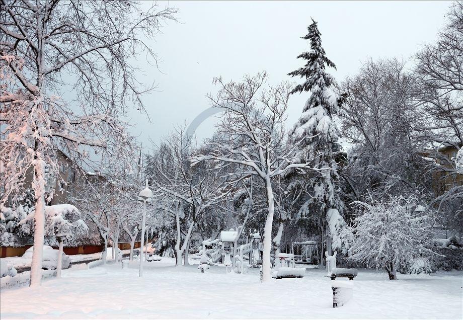 İstanbul'da kartpostallık kar manzaraları - Sayfa 4