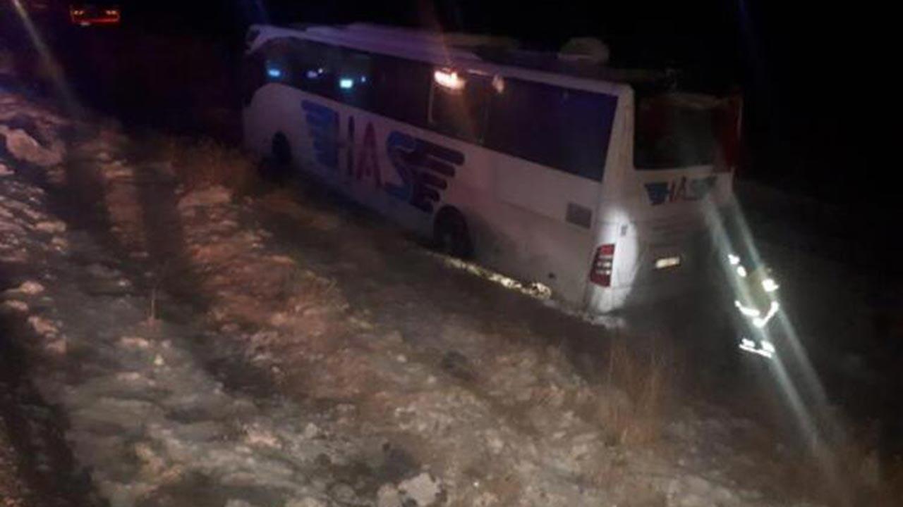 Konya'da yolcu otobüsü kazası 5 ölü, 16 yaralı