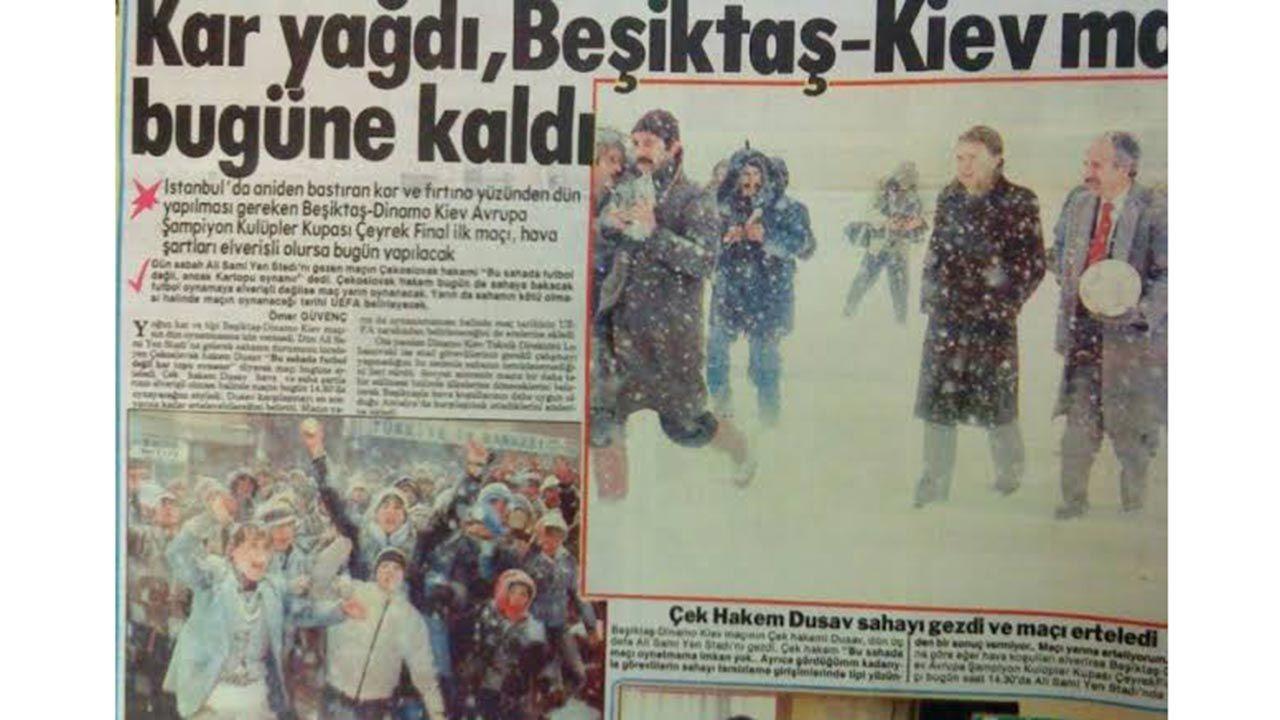 Meşhur 1987 kışında İstanbul'dan kareler - Sayfa 1