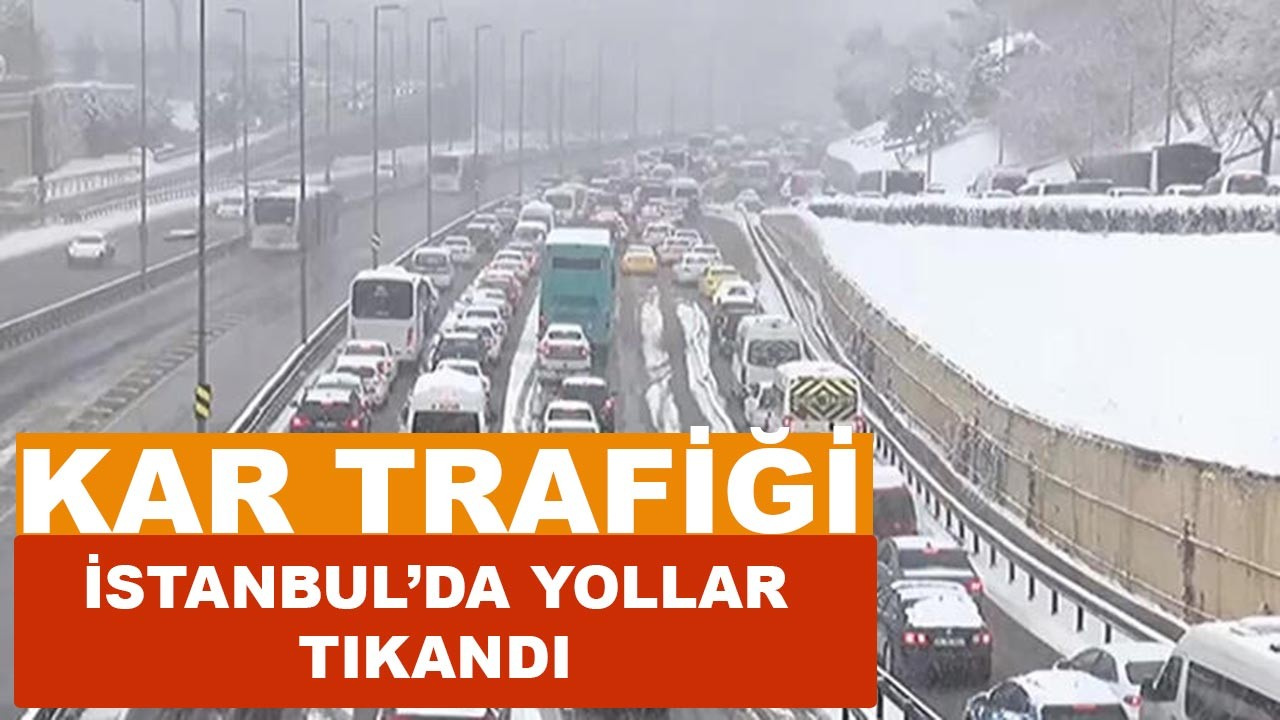 İstanbul'da kar yağışı dördüncü gününde