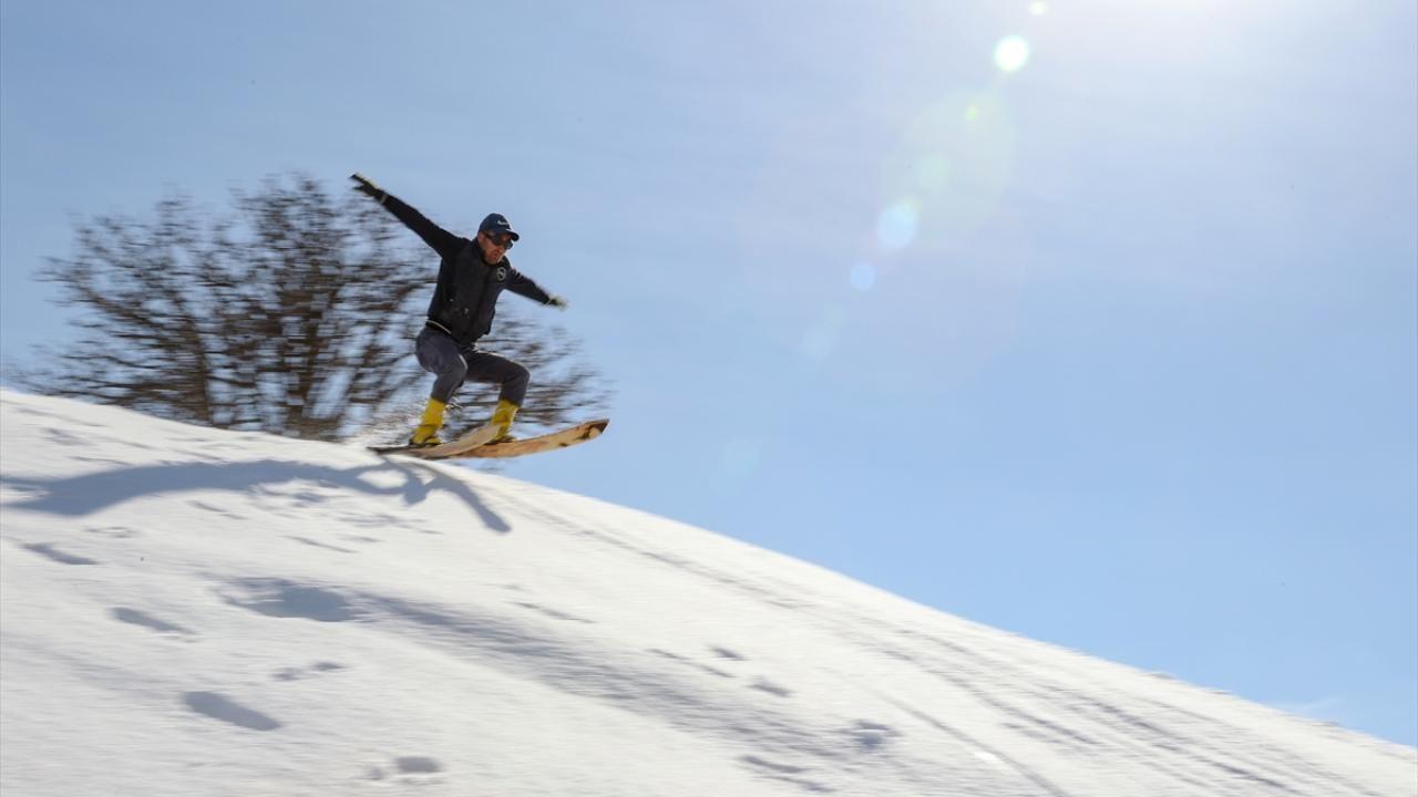 Şemdinli'ye kayağı babası getirdi, o öğretiyor - Sayfa 3