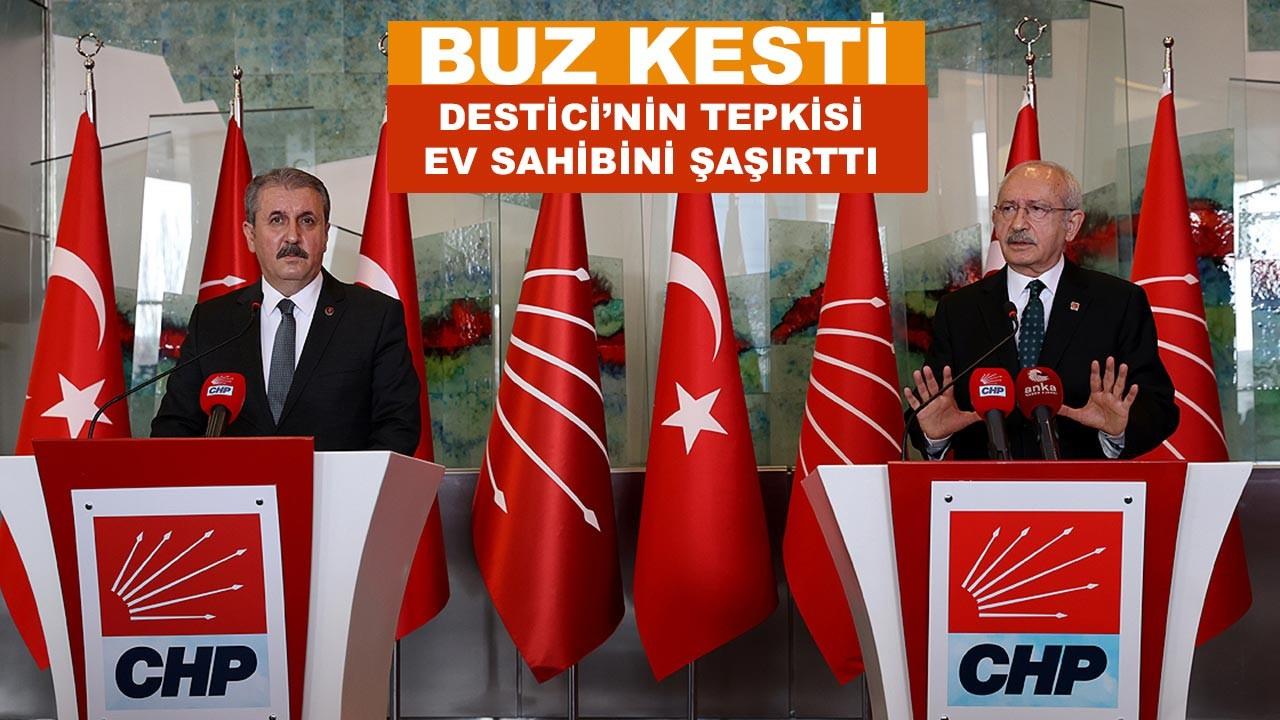 Destici'den Kılıçdaroğlu'na canlı yayında ders