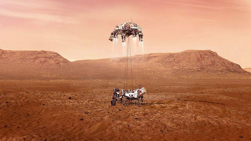 Mars'tan ilk yakın çekim fotoğraflar geldi - Sayfa 1