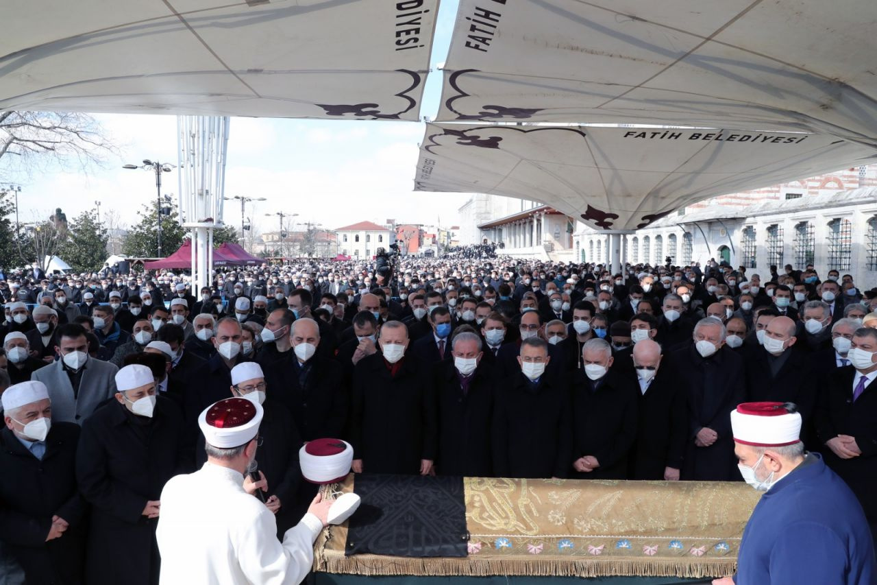 M. Emin Saraç Hoca'nın cenazesinden kareler - Sayfa 2
