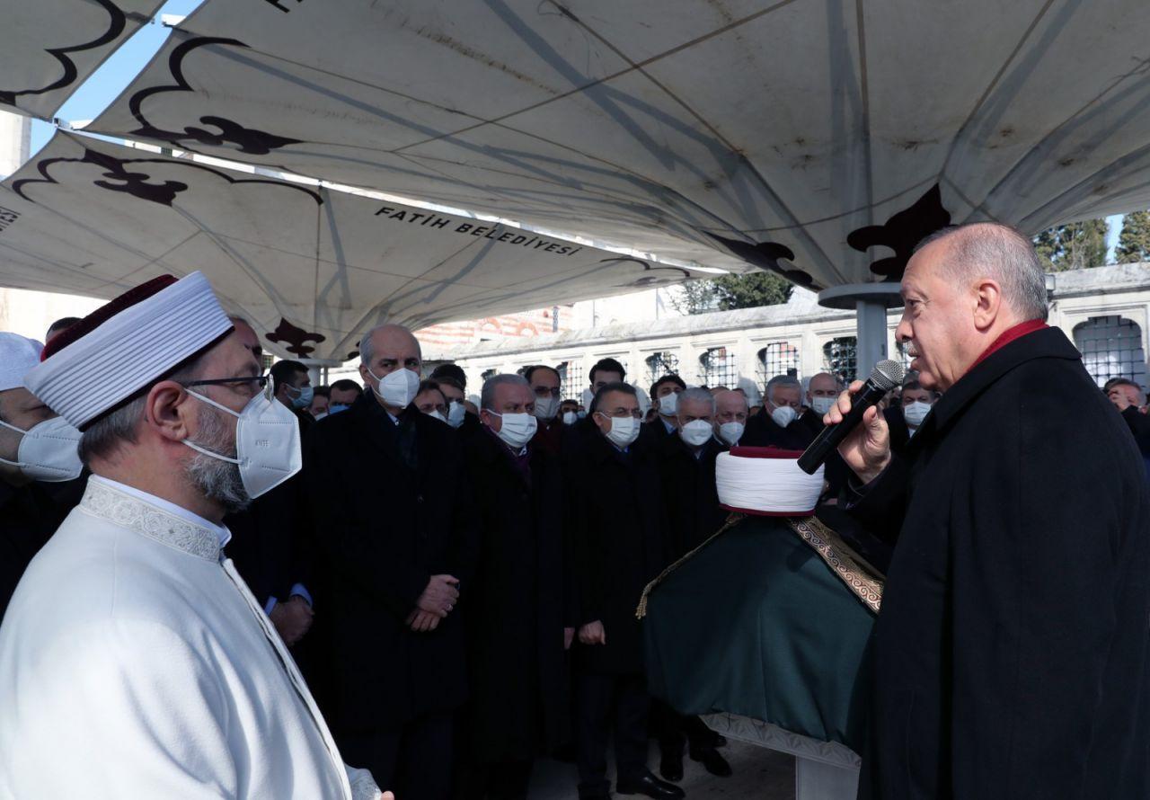 M. Emin Saraç Hoca'nın cenazesinden kareler - Sayfa 3