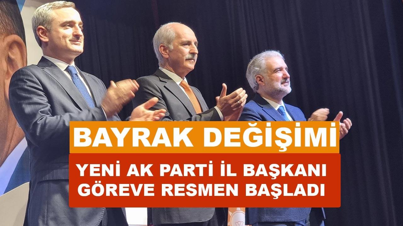 AK Parti İstanbul İl Başkanlığında görev değişimi