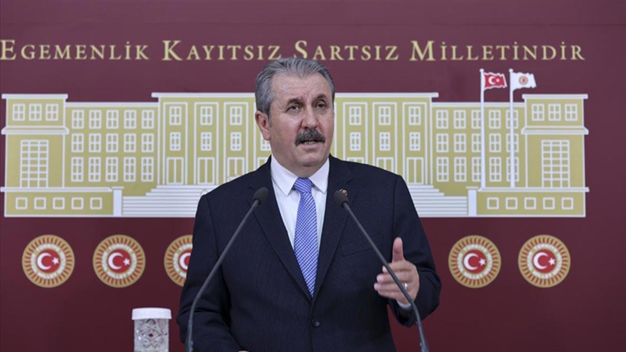 Mustafa Destici'den hükümete '128 milyar' desteği