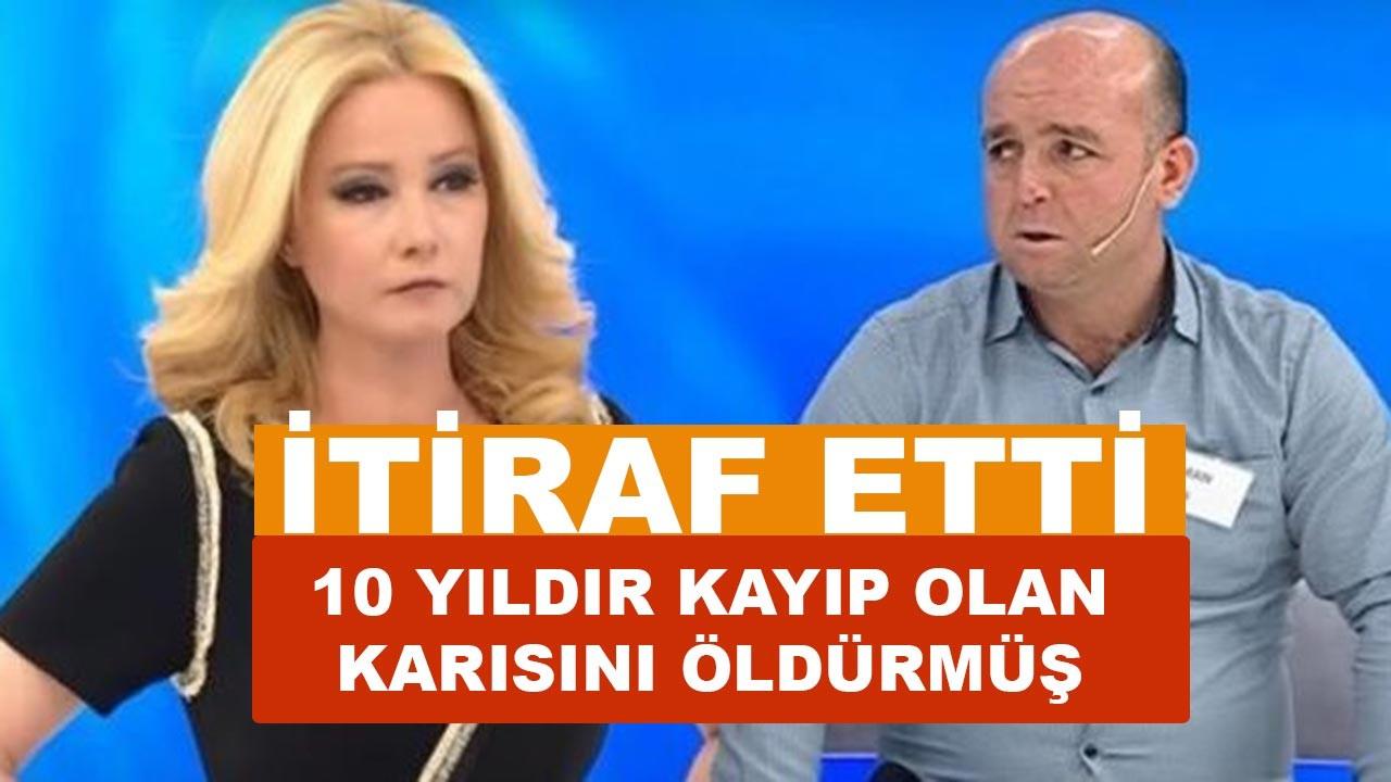 Müge Anlı'da Osman Biçer sonunda karısını öldürdüğünü itiraf etti
