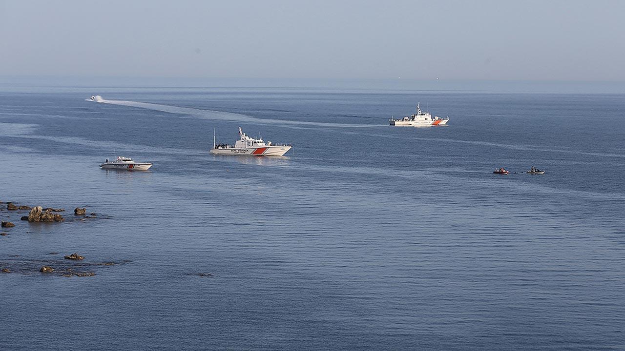 Çanakkale açıklarında batan tekne bulundu