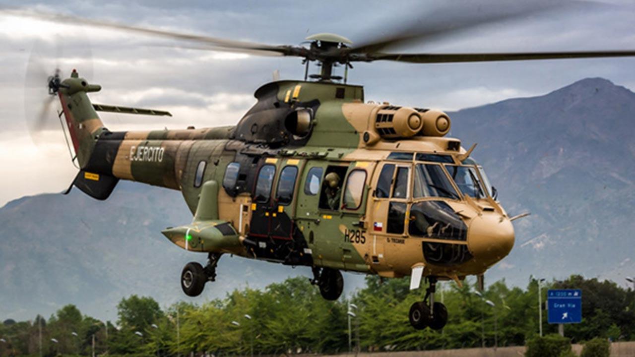 Düşen helikopter marka ve modeli ne?