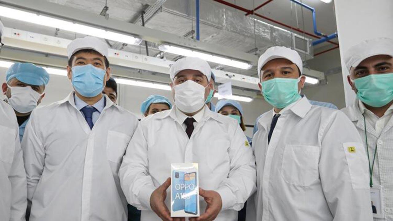 OPPO'nun Türkiye fabrikası üretime başladı