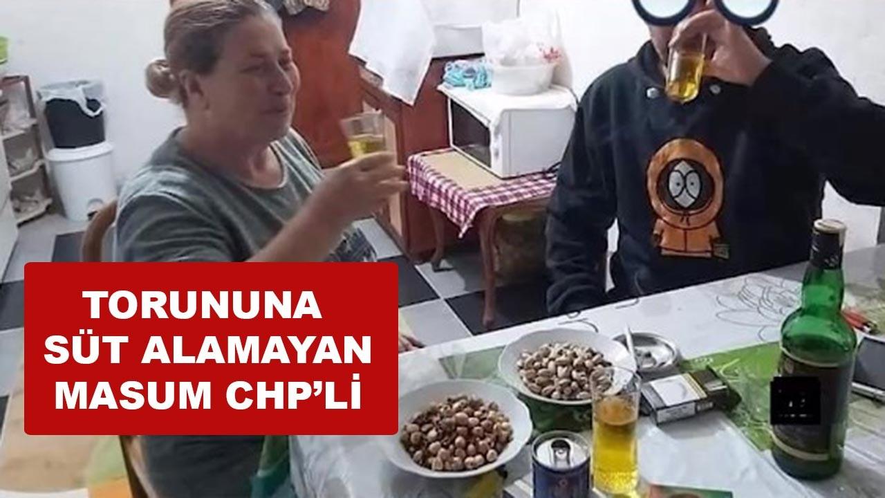 Torununa süt alamayan Yıldız Bacıoğlu isimli Masum CHP'li