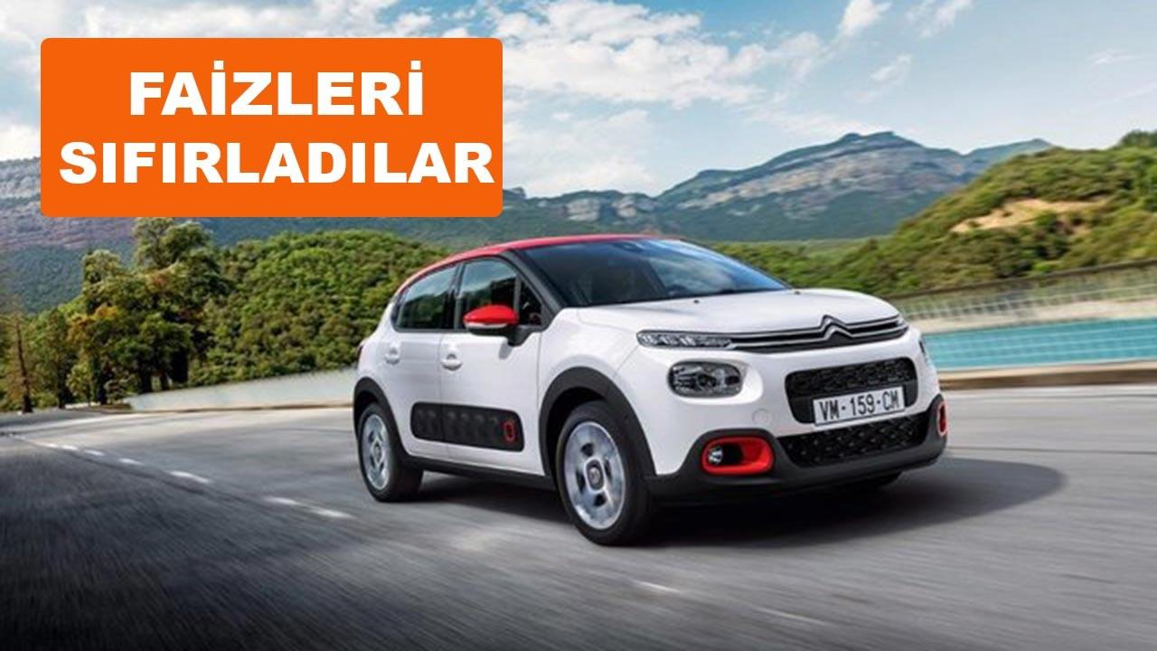 Sıfır faizli araç kampanyaları Mart ayına özel