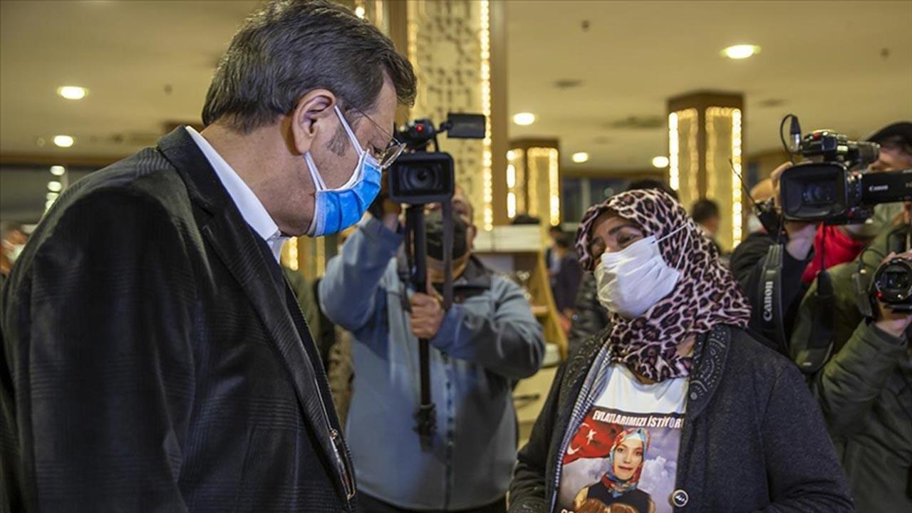 TOBB Başkanı Diyarbakır anneleriyle buluştu