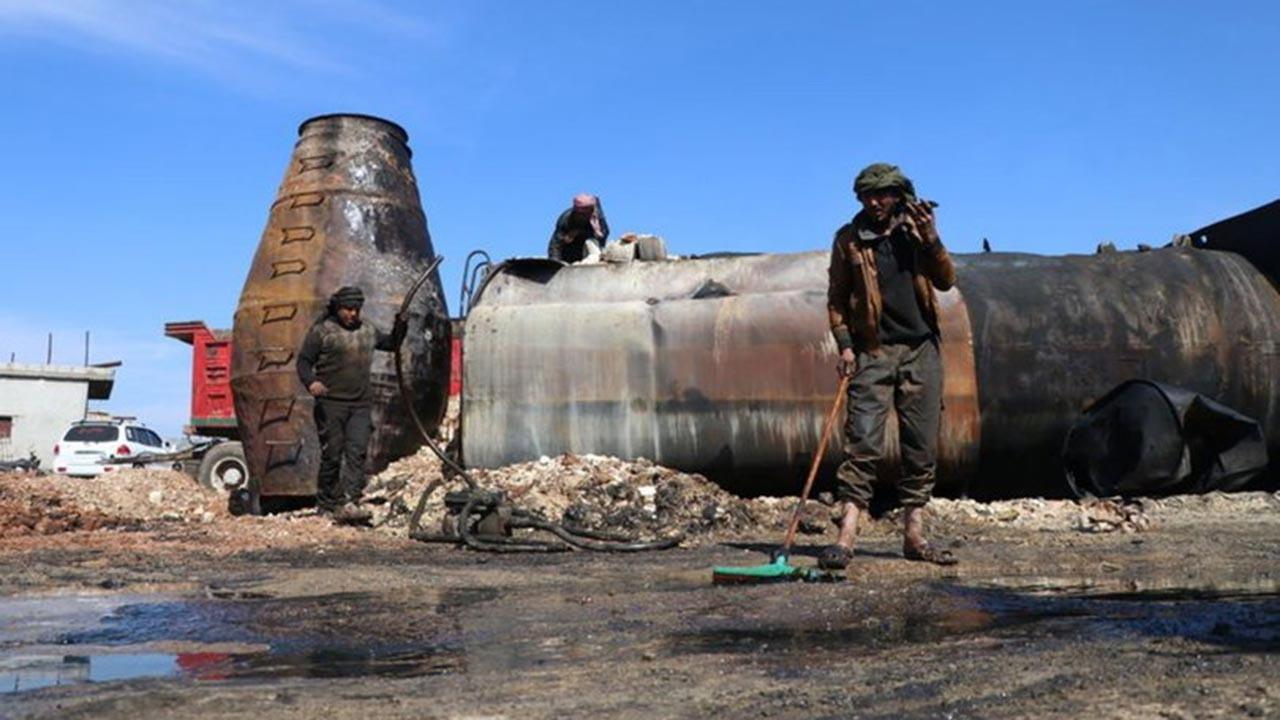 Esed rejimi balistik füzelerle saldırı düzenledi