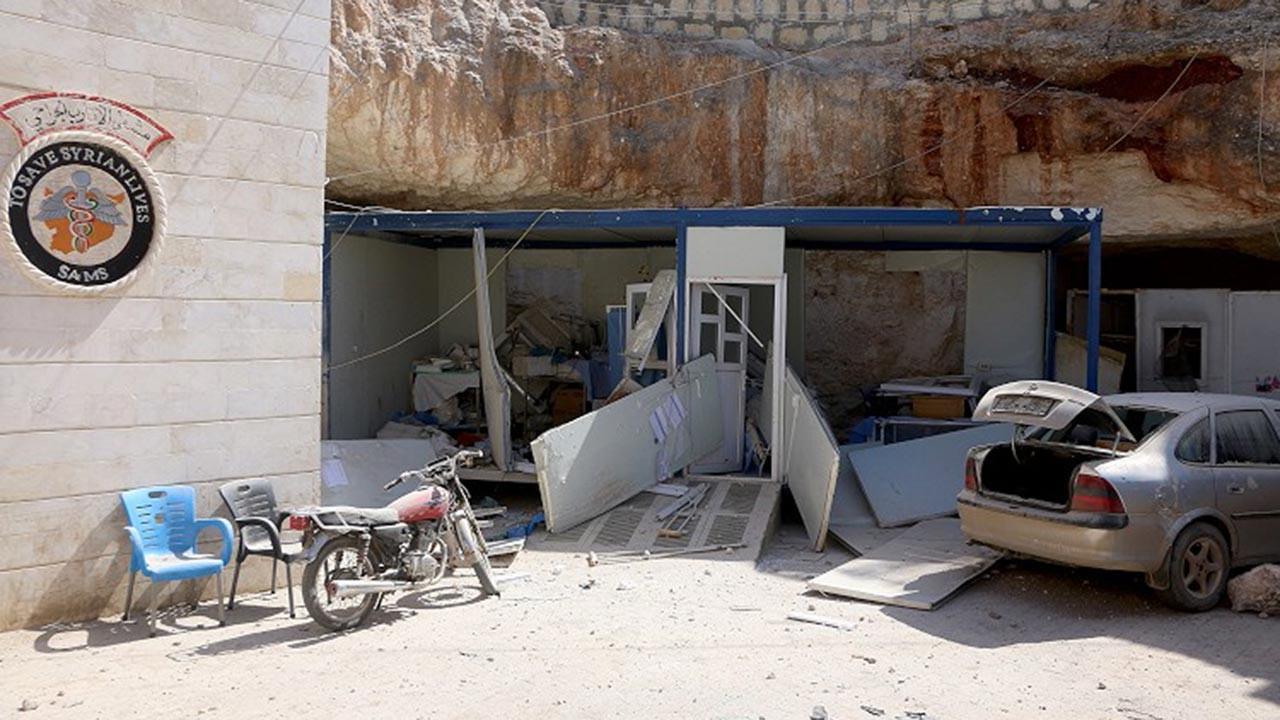 Esed rejimi hastaneye saldırdı, ölü var
