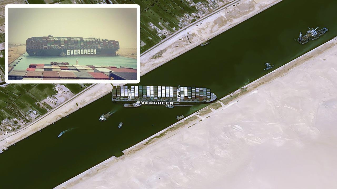 Süveş Kanalı'nı kapatan gemi kurtarıldı
