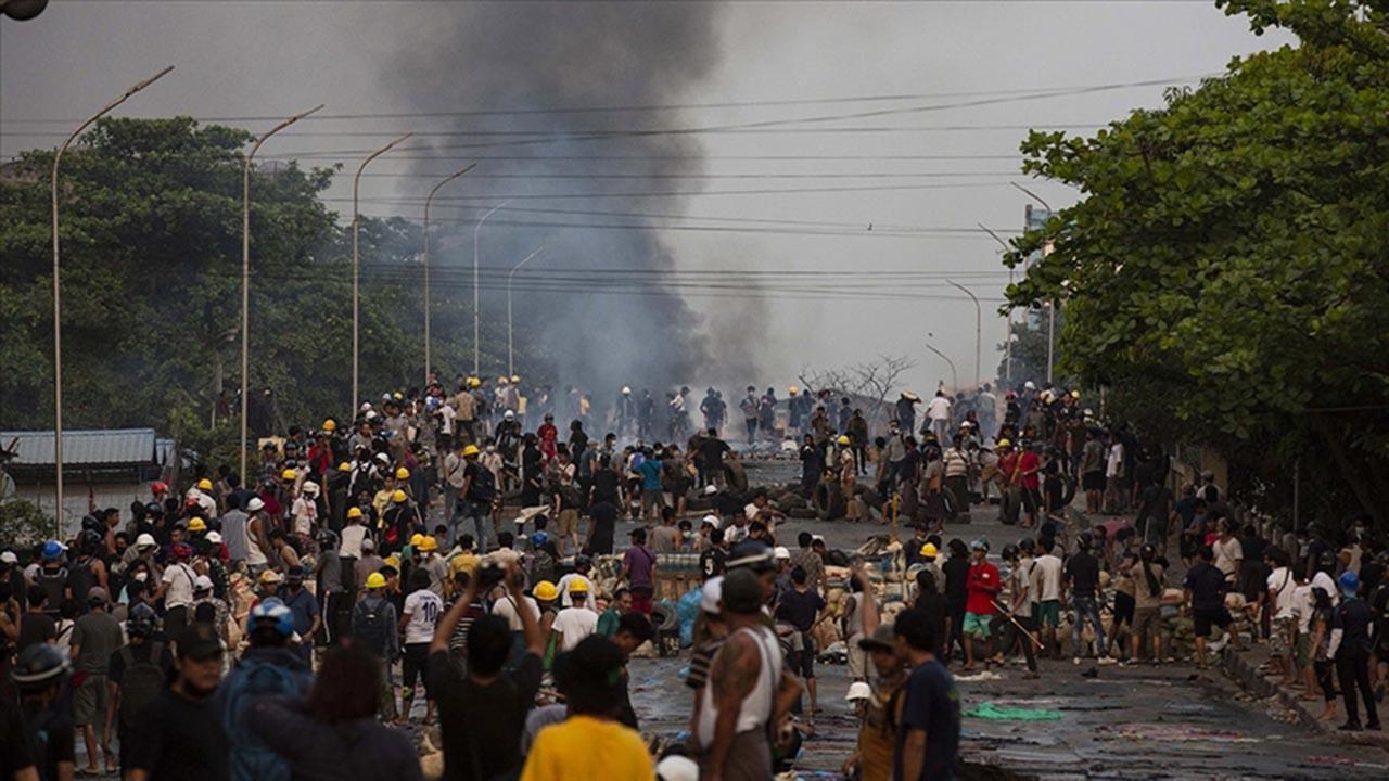 Myanmar'da şiddet alevleniyor, bir günde 58 ölü