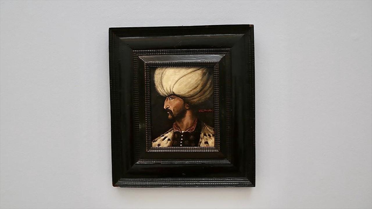 Kanuni Sultan Süleyman'ın portresi satıldı