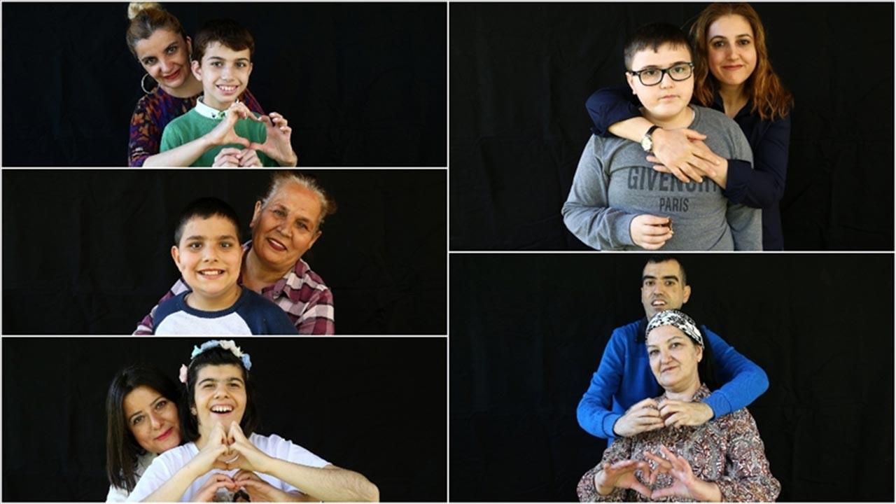 Hayatlarını otizmli çocuklarına adadılar