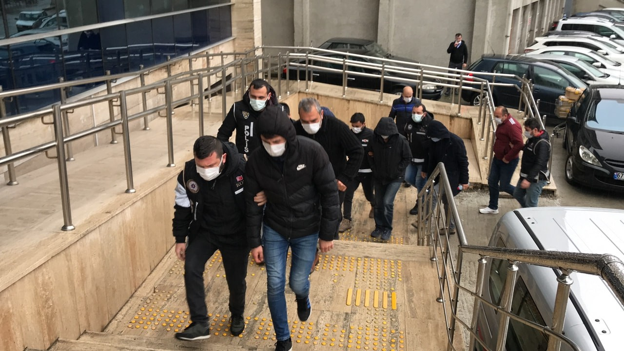 Zonguldak'taki FETÖ operasyonunda 9 kişi serbest