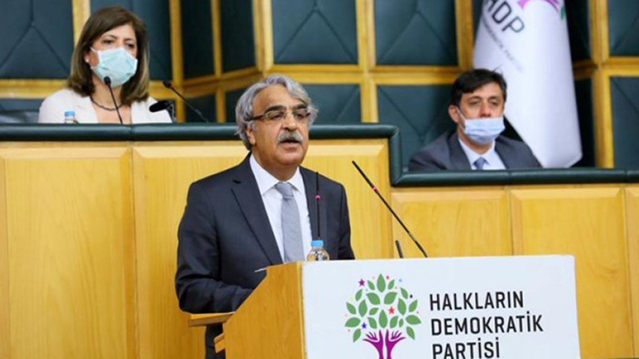 Mithat Sancar HDP Grup Toplantısında konuştu