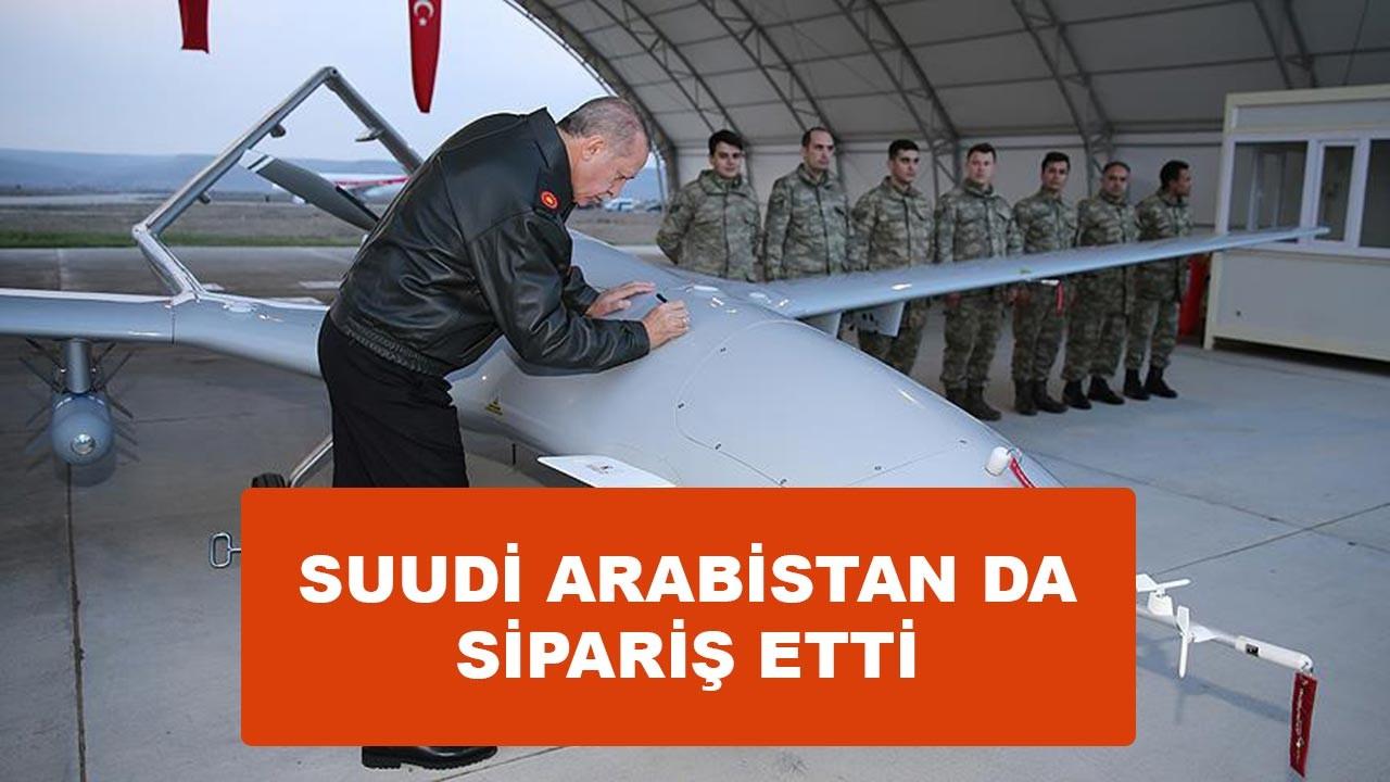 Suudi Arabistan Türkiye'den SİHA sipariş etti