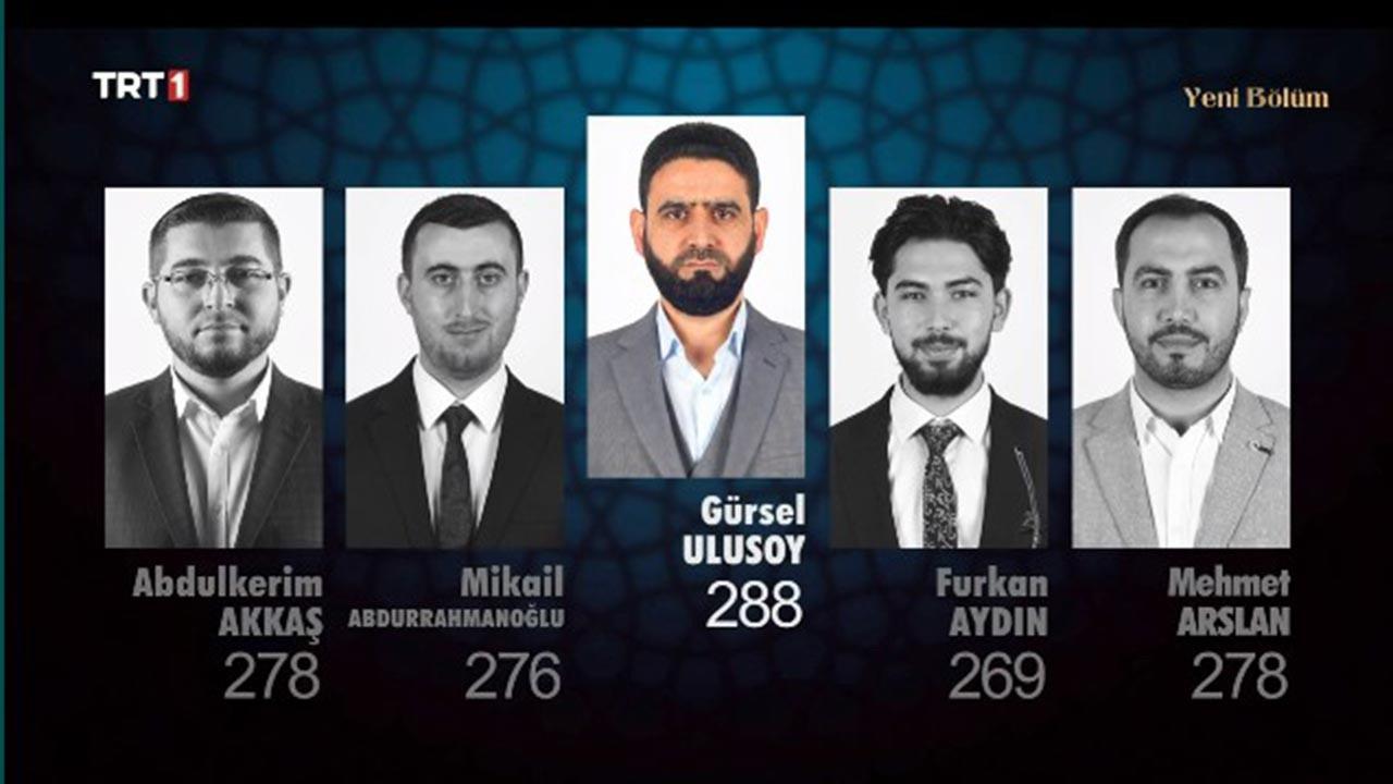 Abdülkerim Akkaş, Mikail Abdurrahmanoğlu, Gürsel Ulusoy, Furkan Aydın ve Mehmet Arslan