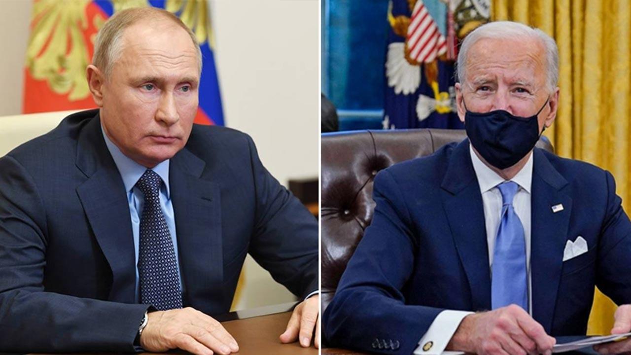 Biden ve Putin arasında ilk görüşme gerçekleşti