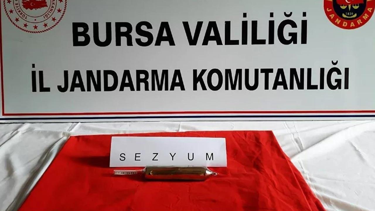 Bursa'da nükleer madde ele geçirildi