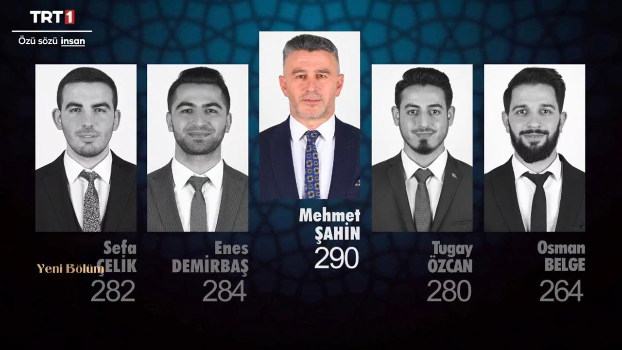 Mehmet Şahin, Osman Belge, Tugay Özcan, Enes Demirbaş ve Sefa Çelik