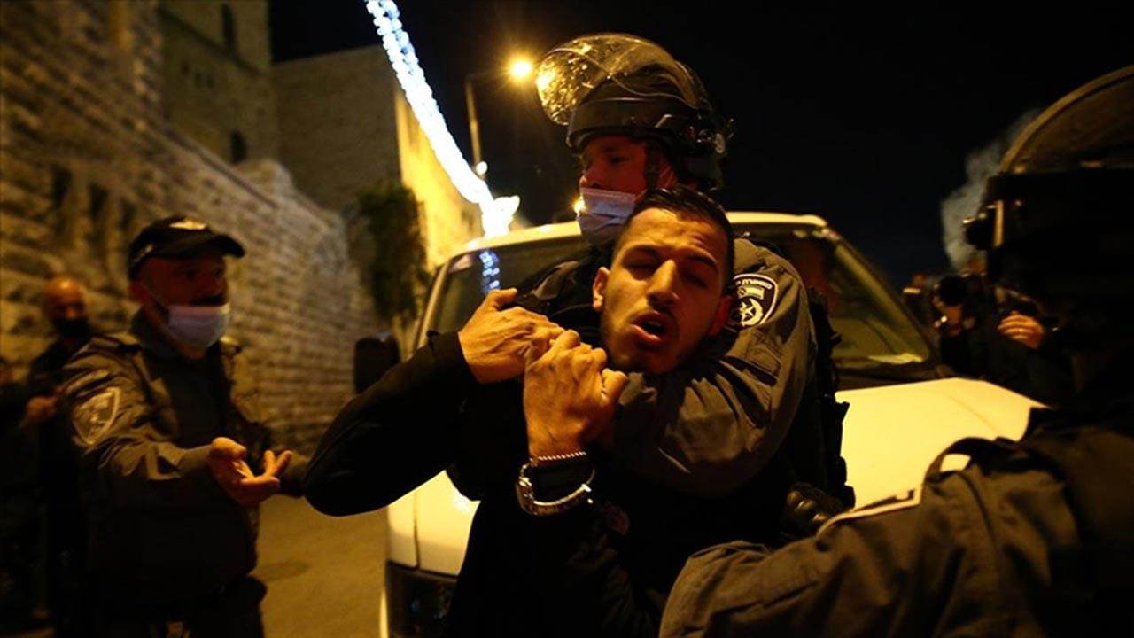 İşgal askerleri Kudüs'te 7 kişiyi yaraladı
