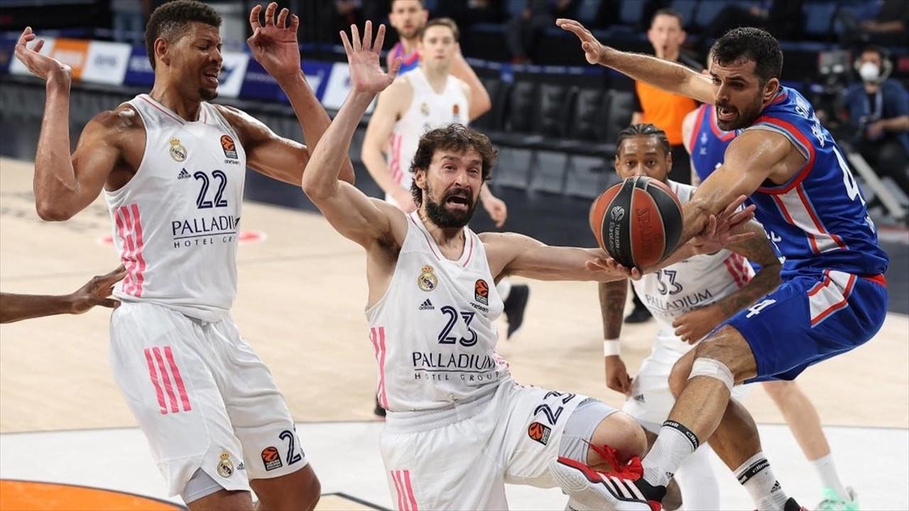 Anadolu Efes, Real Madrid'i yenmeyi başardı