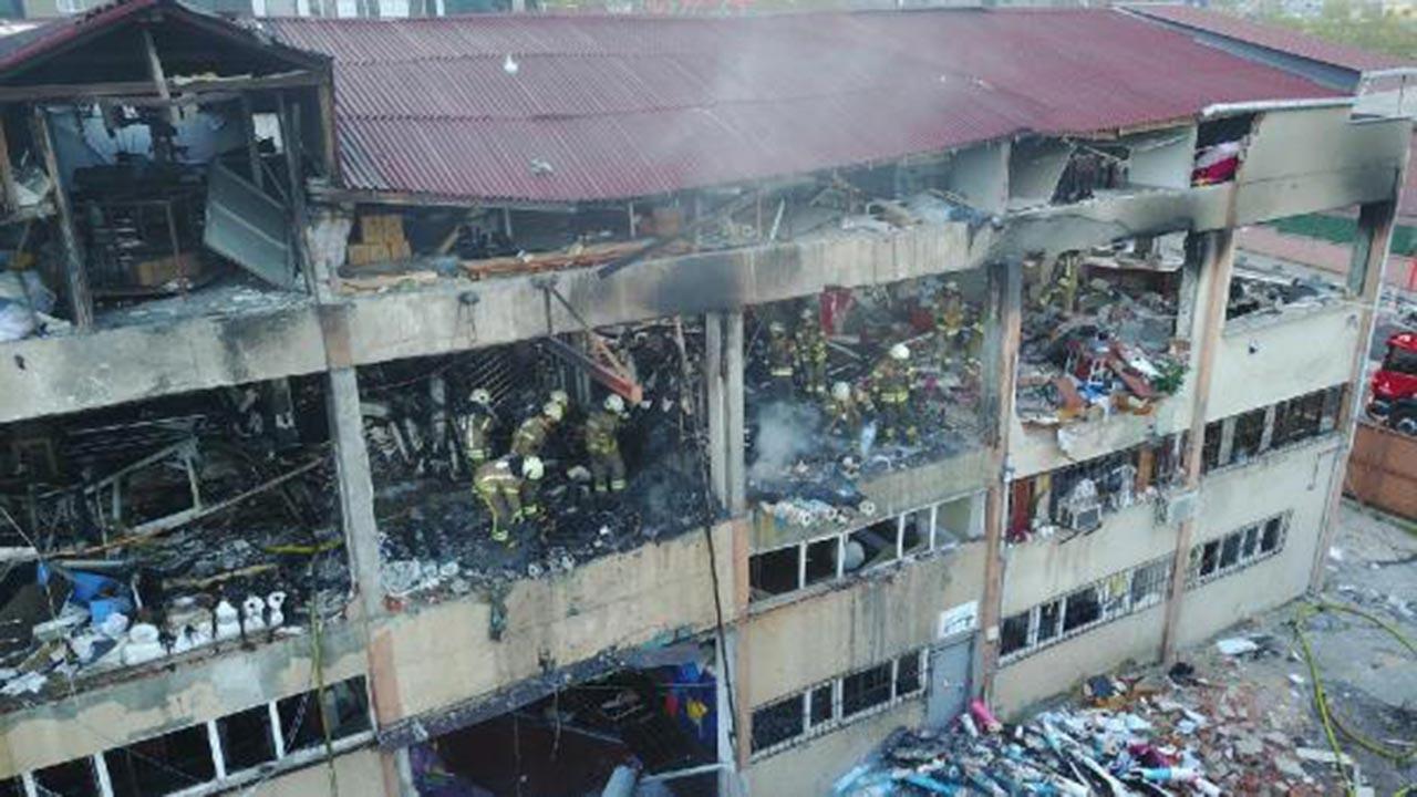 İstanbul'daki patlamadan korkunç görüntüler