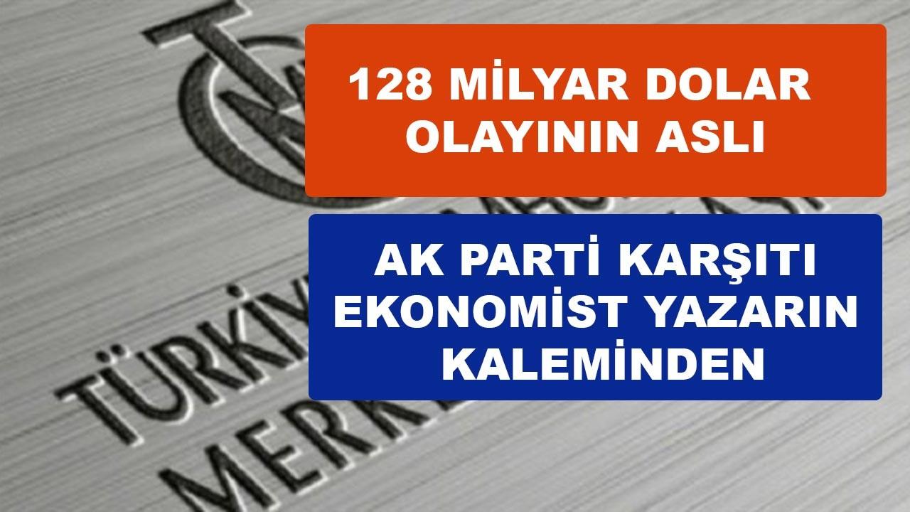 AK Parti'ye muhalif ekonomist yazarın kaleminden